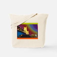 Sacramento bridge Tote Bag
