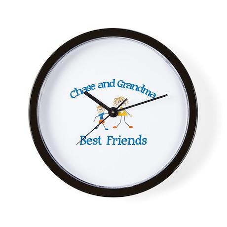 Chase & Grandma - Best Friend Wall Clock