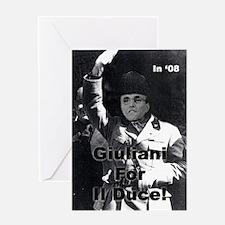 Benito Giuliani Greeting Card