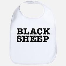 BLACK SHEEP:- Baby Bib