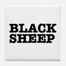 BLACK SHEEP:- Tile Coaster