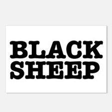 BLACK SHEEP:- Postcards (Package of 8)