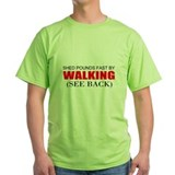 Fitness walking Green T-Shirt