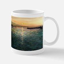 Thassos Town Sunset Mugs