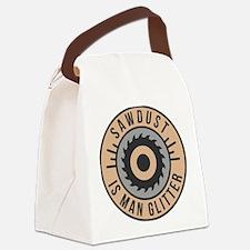Sawdust Canvas Lunch Bag