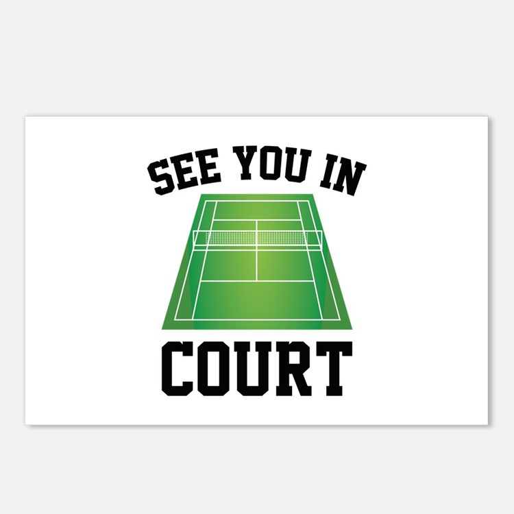 See You In Court Postcards (Package of 8)