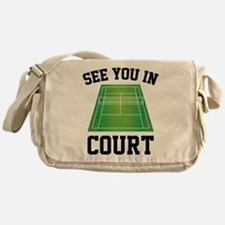 See You In Court Messenger Bag