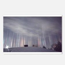 Light-Pillars Roof Postcards (Package of 8)