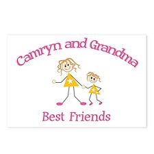 Camryn & Grandma - Best Frien Postcards (Package o