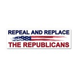 "Repeal replace republican 3"" x 10"""