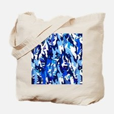 Cute Blue tote Tote Bag