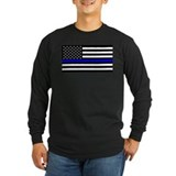 Blue lives matter Long Sleeve Dark T-Shirts