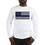 Blue lives matter Long Sleeve T-shirts