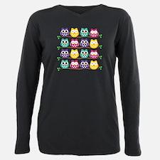 Cute Colorful Owls T-Shirt