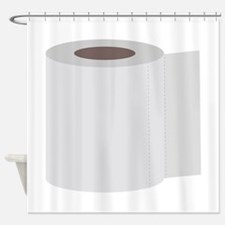 Roll of toilet paper Shower Curtain