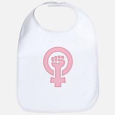 Feminist Fist Bib