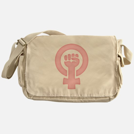 Feminist Fist Messenger Bag