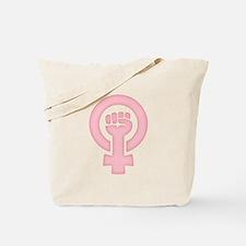 Feminist Fist Tote Bag