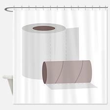 Toilet paper rolls Shower Curtain