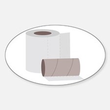 Toilet paper rolls Decal