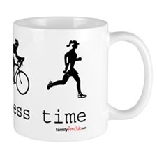 It's Business Time Triathlon Mug