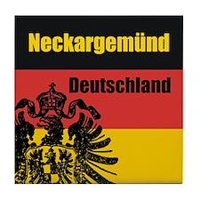 Neckargemünd Deutschland Tile Coaster
