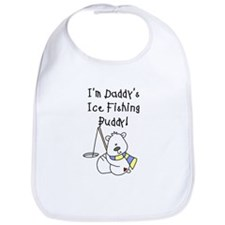 Daddy's Ice Fishing Buddy Bib