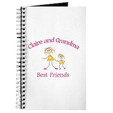 Claire & Grandma - Best Frien Journal