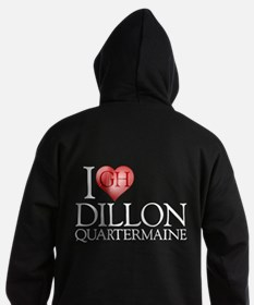 I Heart Dillon Quartermaine Hoodie (dark)