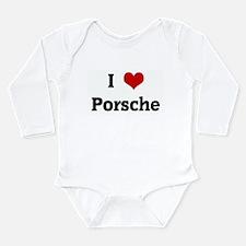 I Love Porsche Body Suit