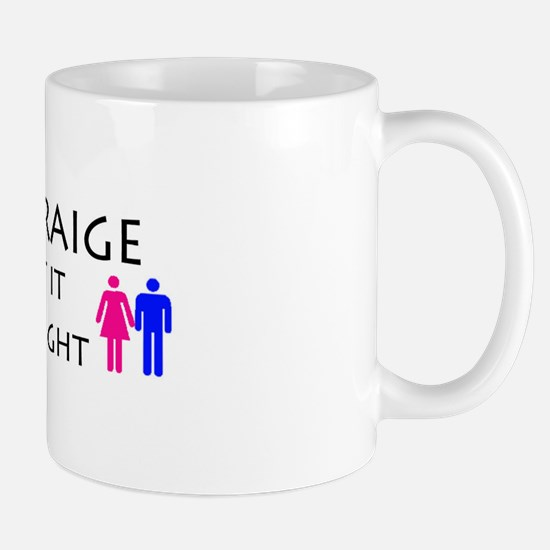 Unique Hetero Mug