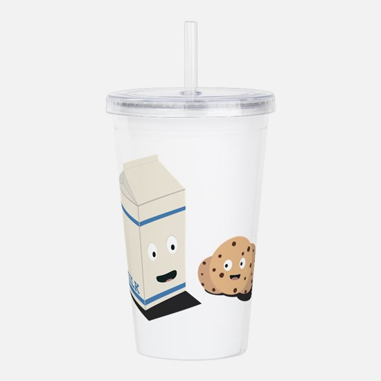 Cookies and Milk best Acrylic Double-wall Tumbler