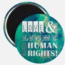 LOVE AND LIGHT AND... Magnets