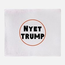 Nyet Trump, No Trump/Putin Throw Blanket