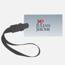 I Heart Julian Jerome Luggage Tag