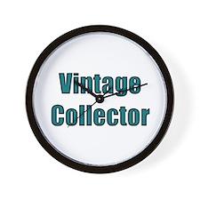 Vintage Collector Wall Clock