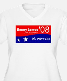 Jimmy James for President No More Lies T-Shirt