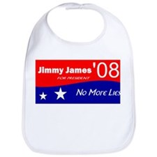 Jimmy James for President No More Lies Bib