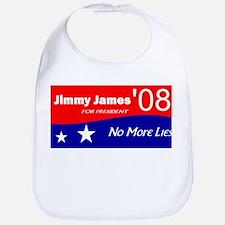 Jimmy James for President No More Lies Bib