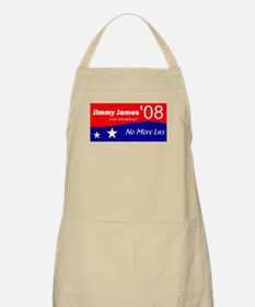 Jimmy James for President No More Lies BBQ Apron