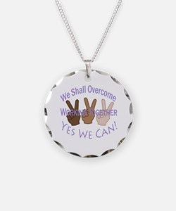 Cute Together we can difference Necklace