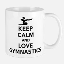 Keep calm and love gymnastics Mugs