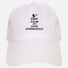 Keep calm and love gymnastics Baseball Baseball Cap