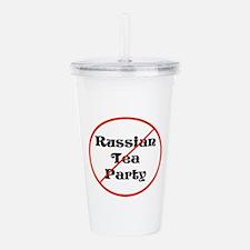 No Russian tea party, trump traitor Acrylic Double