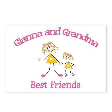 Gianna & Grandma - Best Frien Postcards (Package o