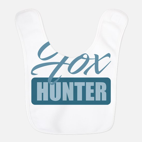 Fox Hunter Polyester Baby Bib