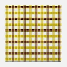 PLAID Tile Coaster
