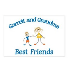 Garrett & Grandma - Best Frie Postcards (Package o