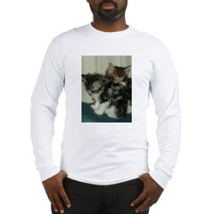 Maine Coon Kitten Long Sleeve T-Shirt