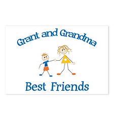 Grant & Grandma - Best Friend Postcards (Package o